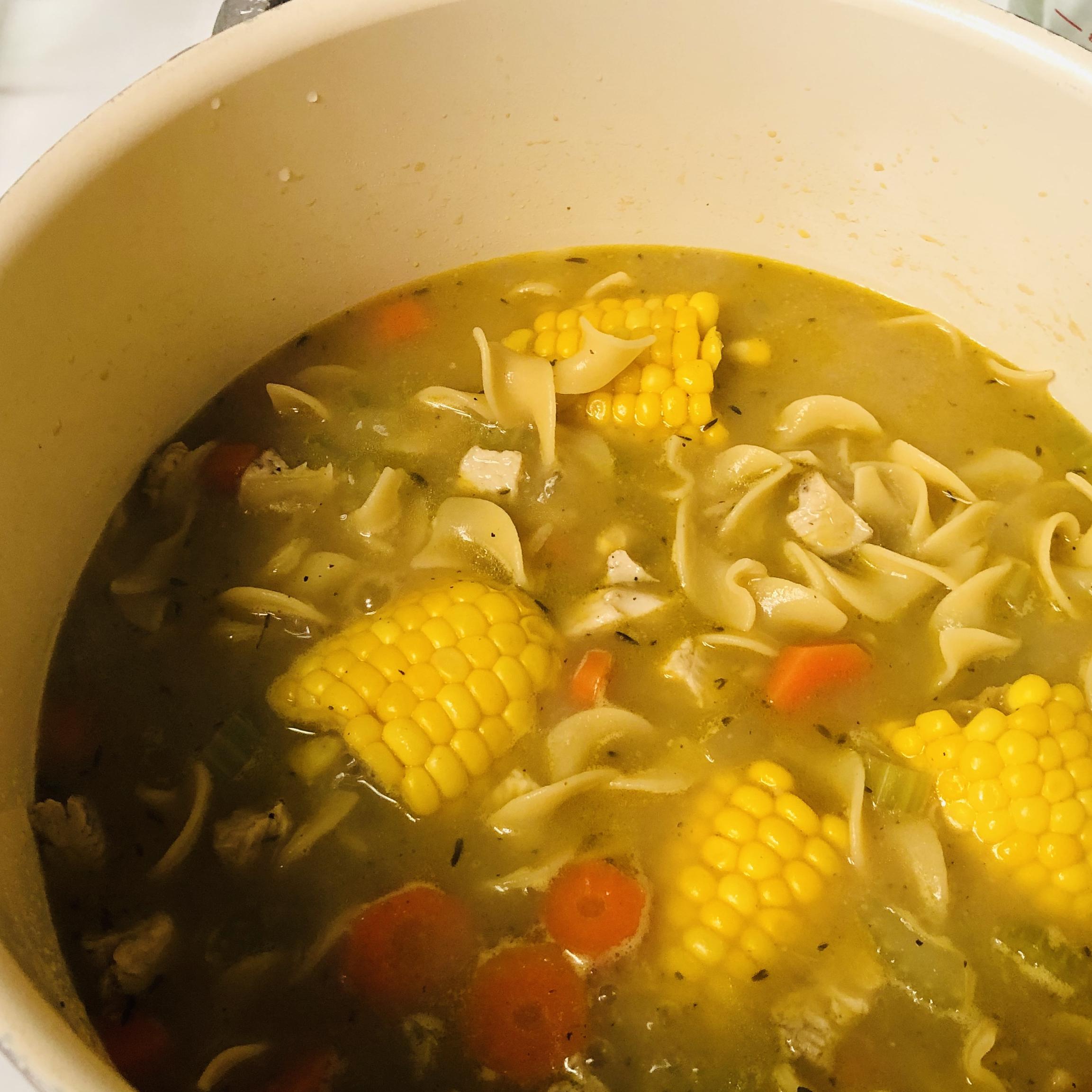 Chef John's Homemade Chicken Noodle Soup Juani Loor