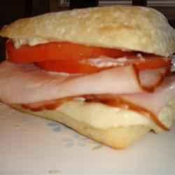 Tangy Turkey and Swiss Sandwiches Gianna Rose Allen