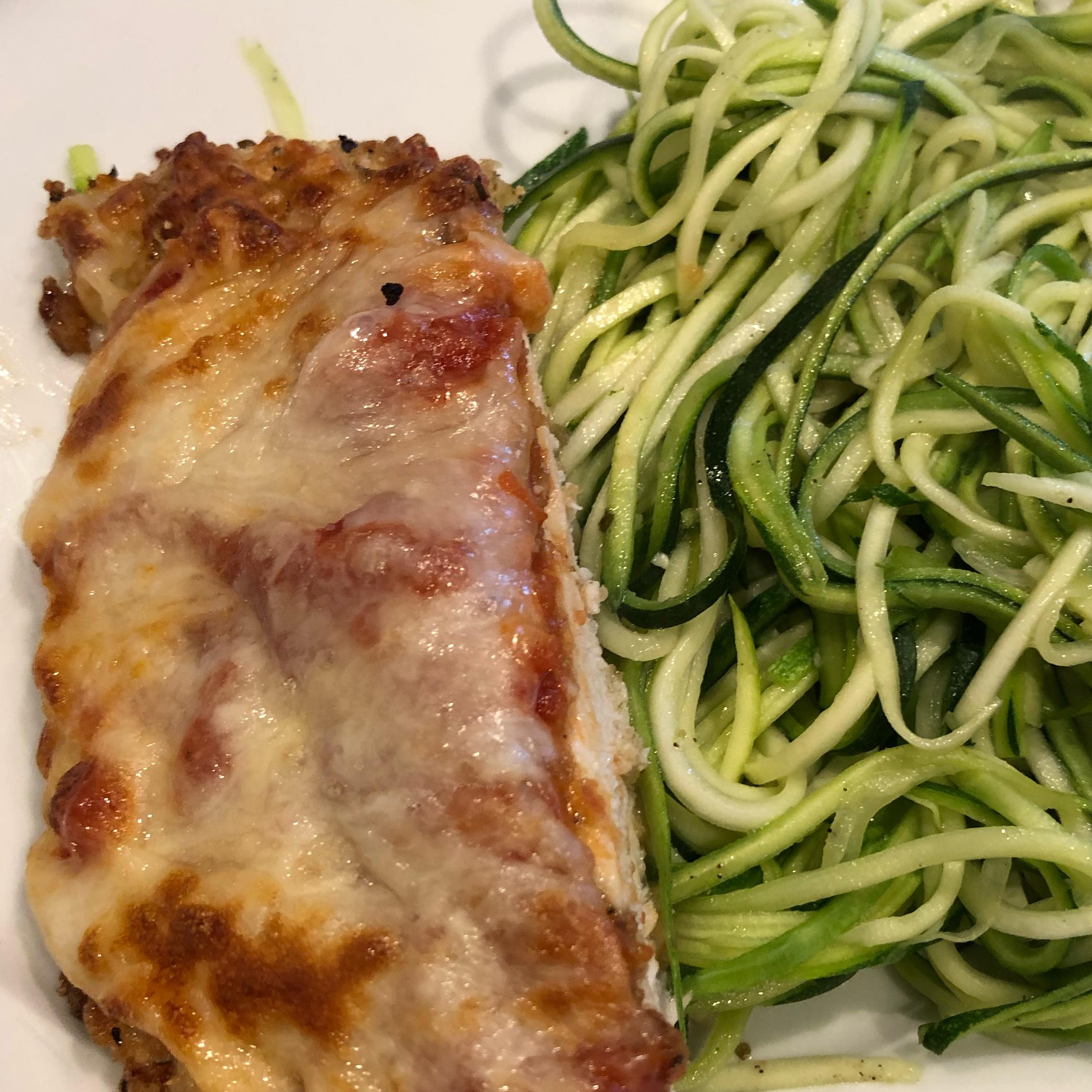Keto Chicken Parmesan Gretchen S