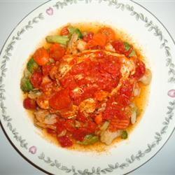 Tender Tomato Chicken Breasts