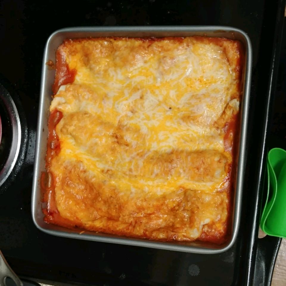 Chicken Enchiladas I kimberlie