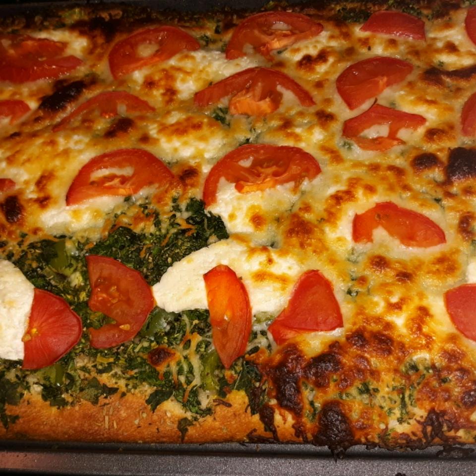 Goat Cheese Arugula Pizza No Red Sauce Allrecipes