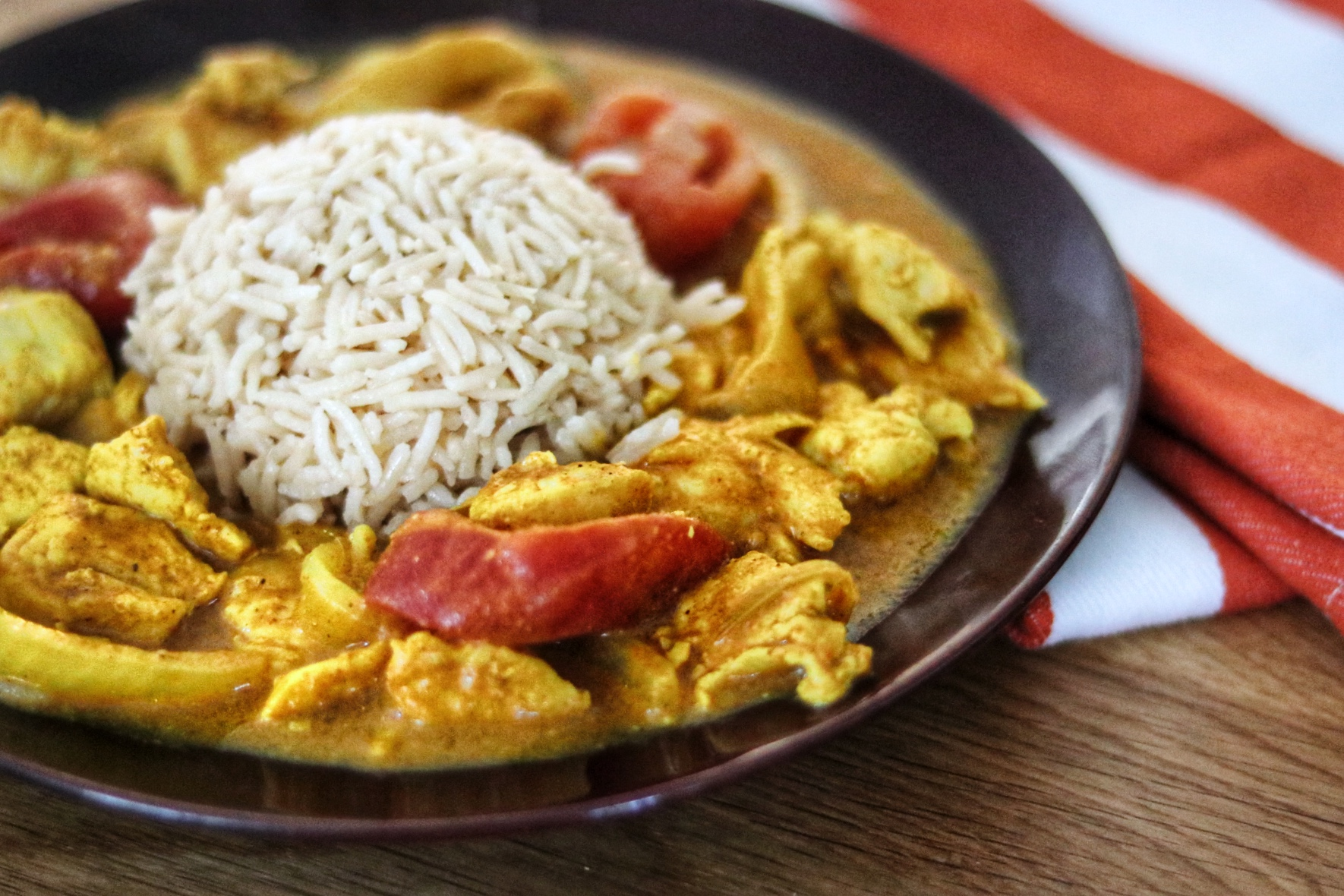 Easy Chicken Curry in a Hurry NICOLE