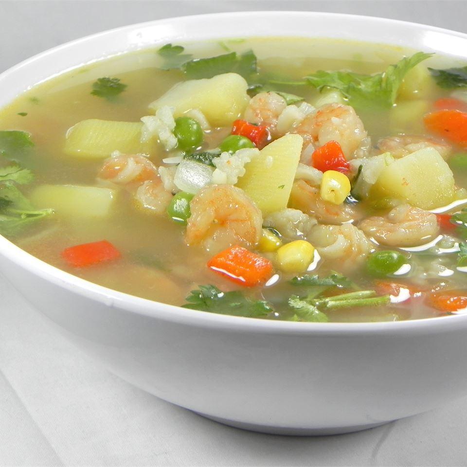 Peruvian Chicken Soup (Aguadito de Pollo) Soup Loving Nicole
