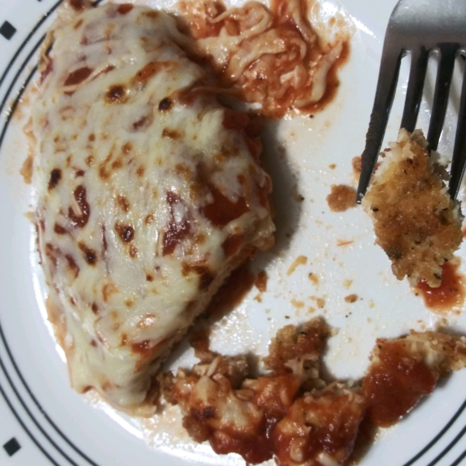 Keto Chicken Parmesan Roxana Alequin