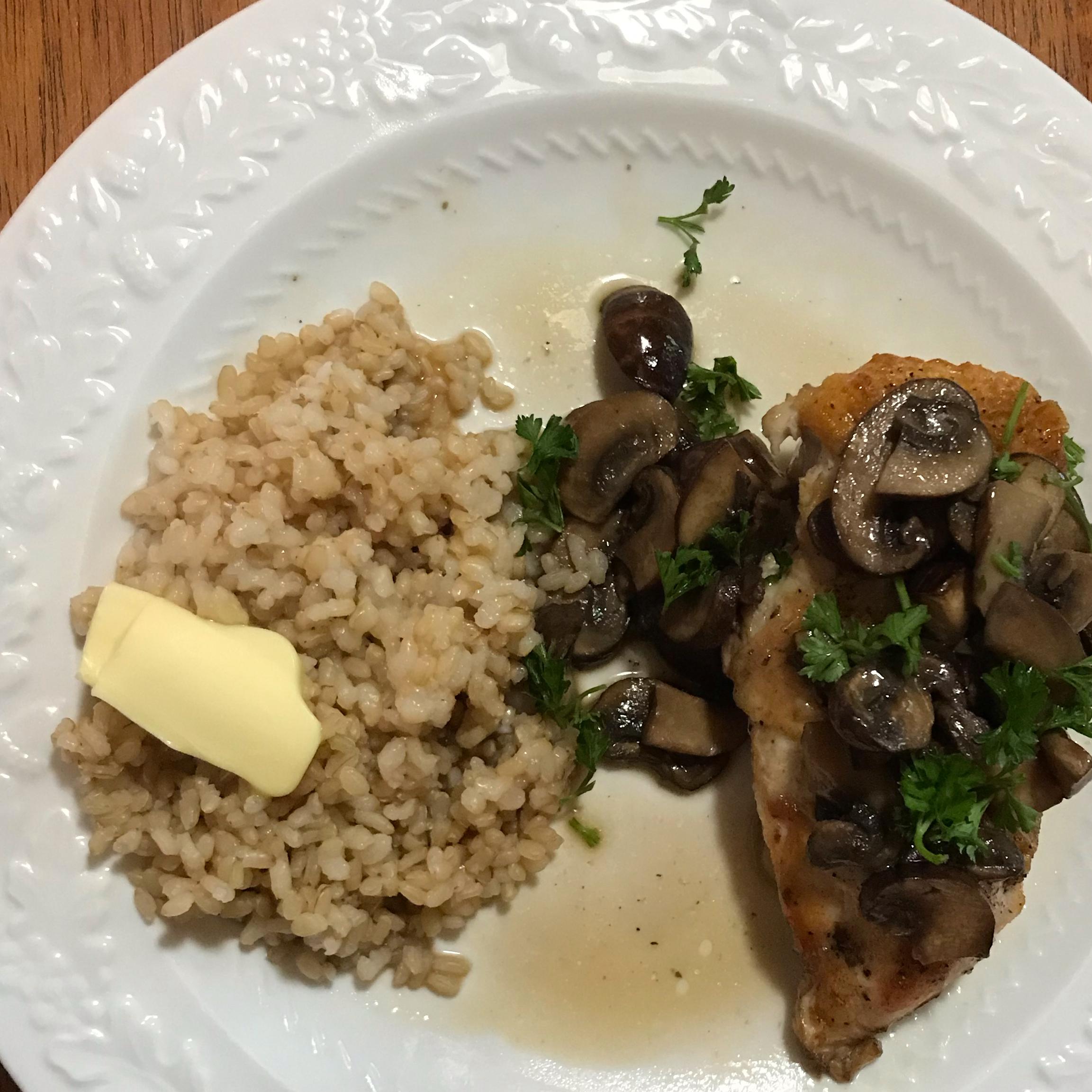 Chef John's Chicken and Mushrooms Lisa C,