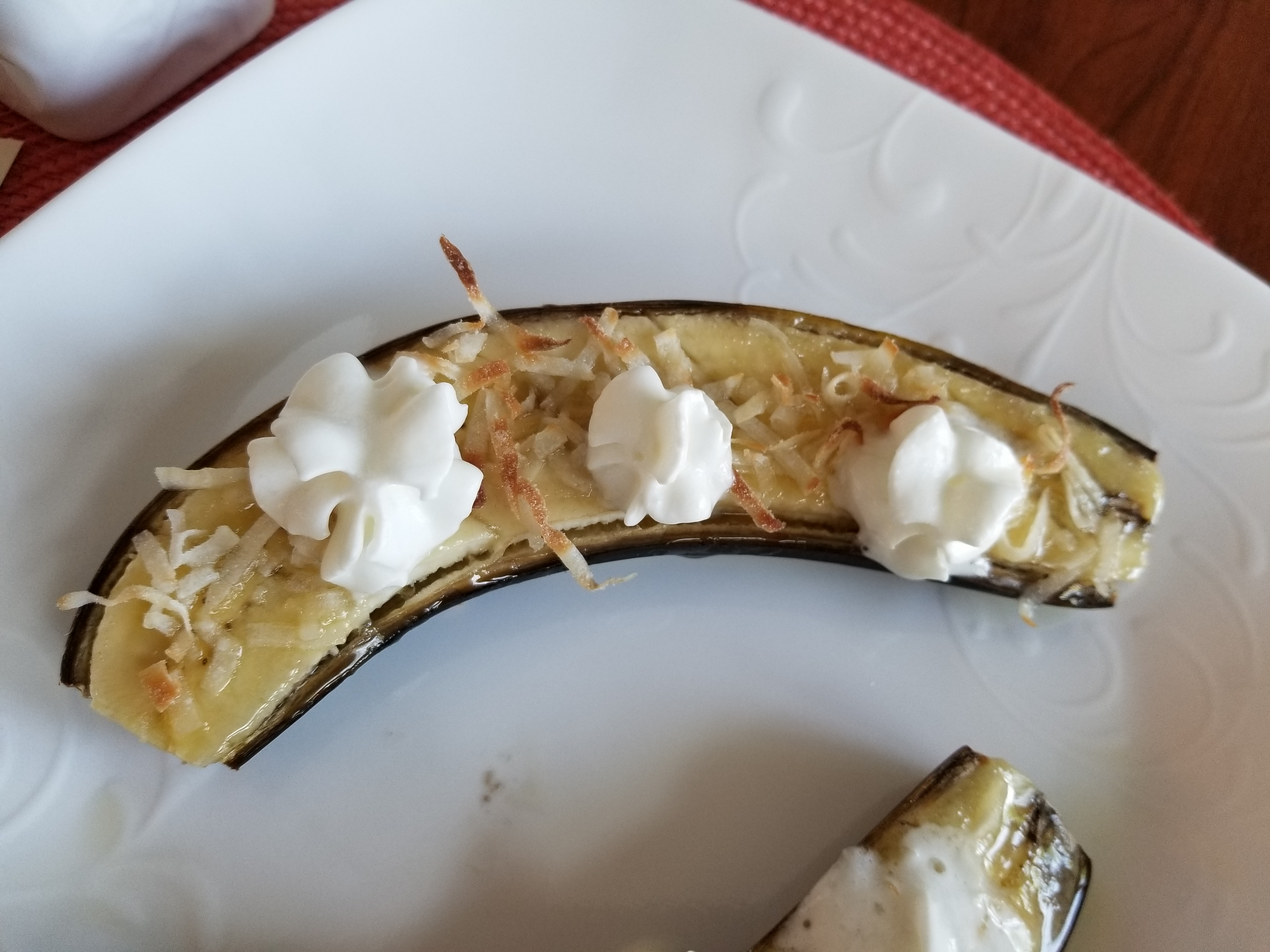 Honey Coconut Bananas