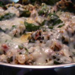 Super Filling Cannellini Bean and Escarole Dish sroses