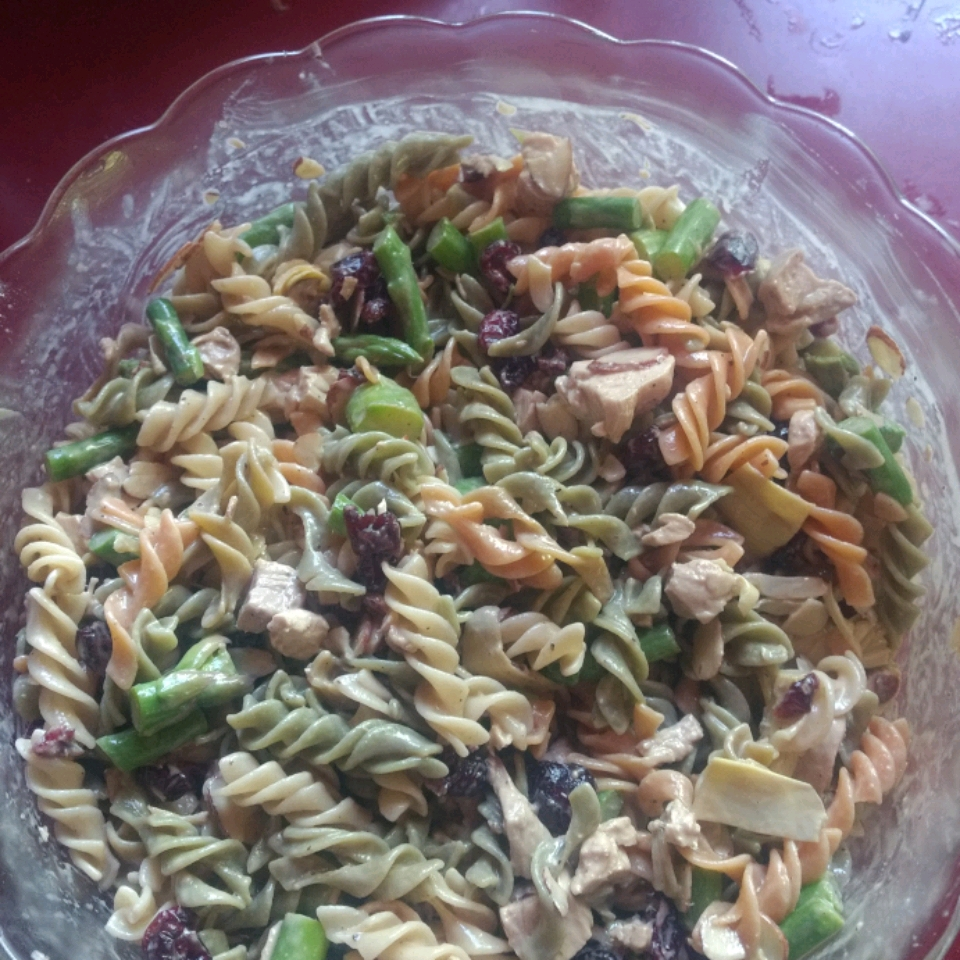 Asparagus and Artichoke Pasta Salad