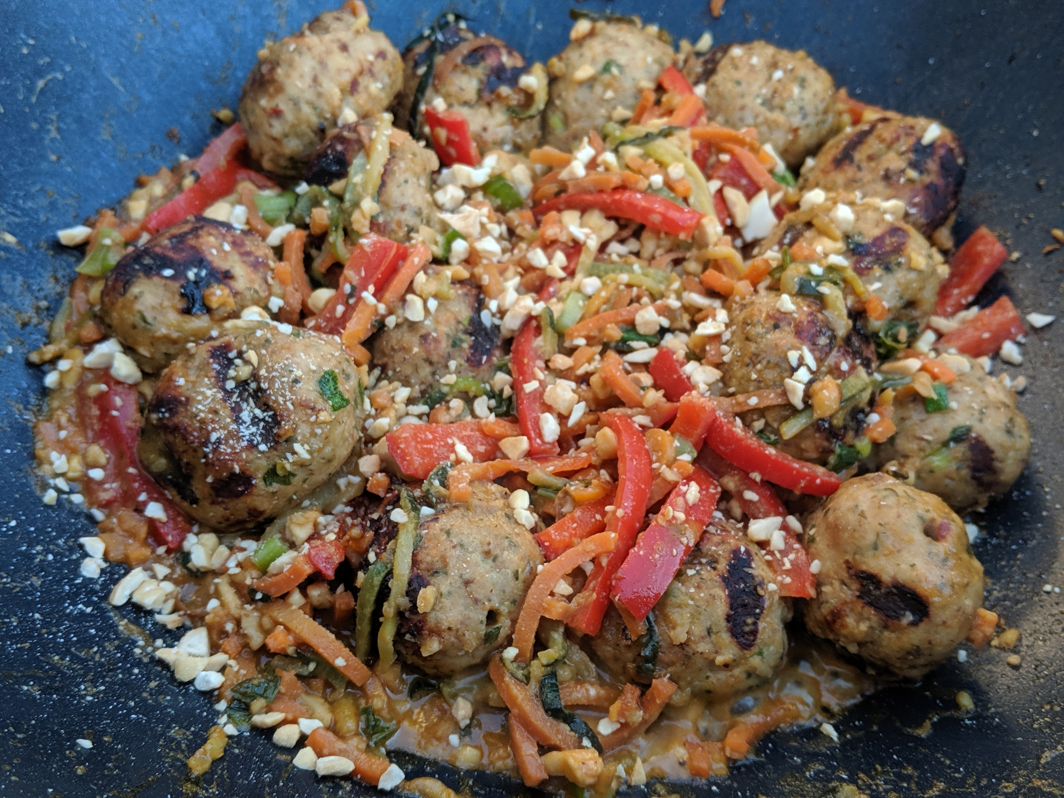Thai Chicken Balls SZYQ1