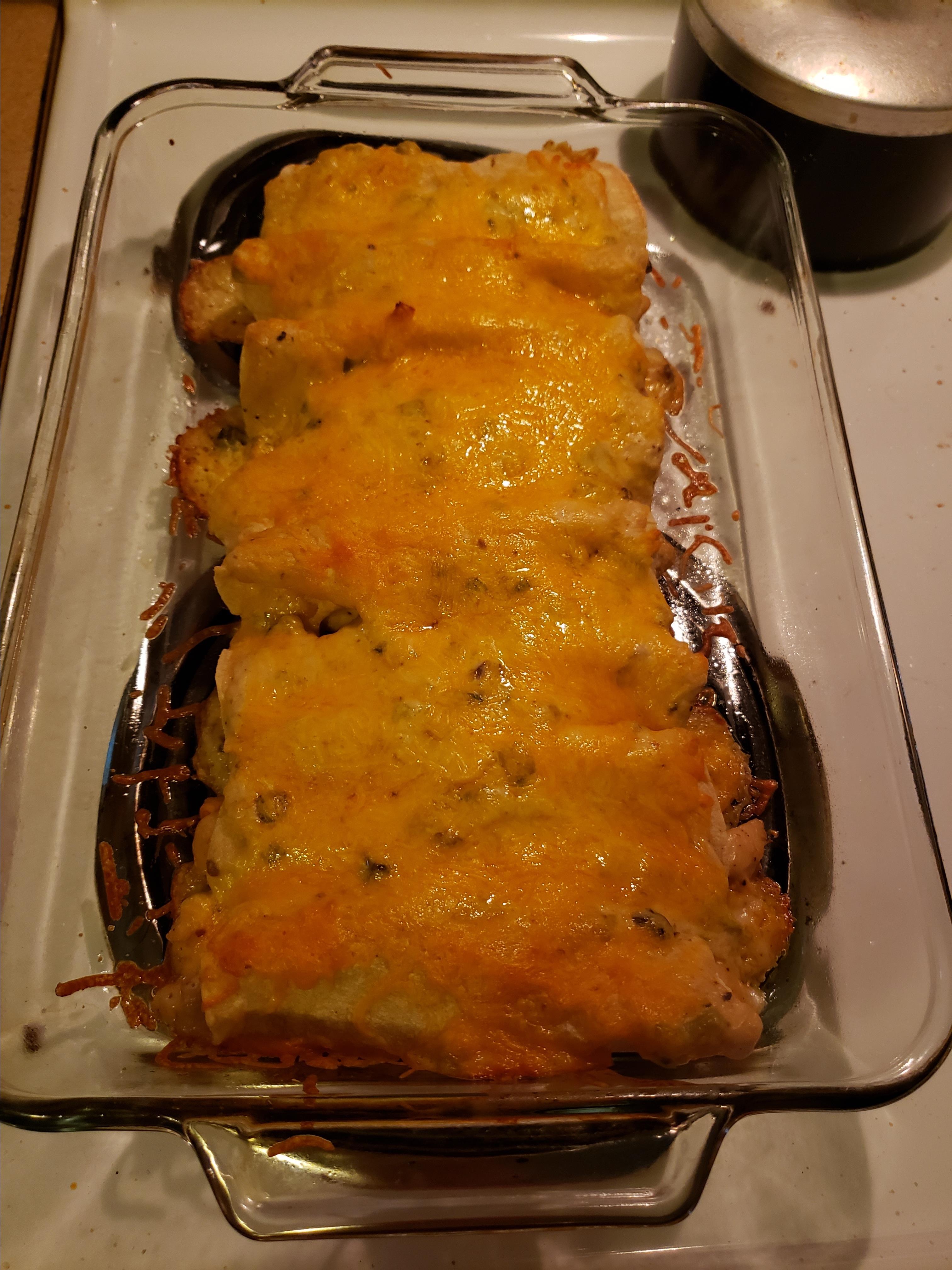 Chicken Enchiladas II Trishb3
