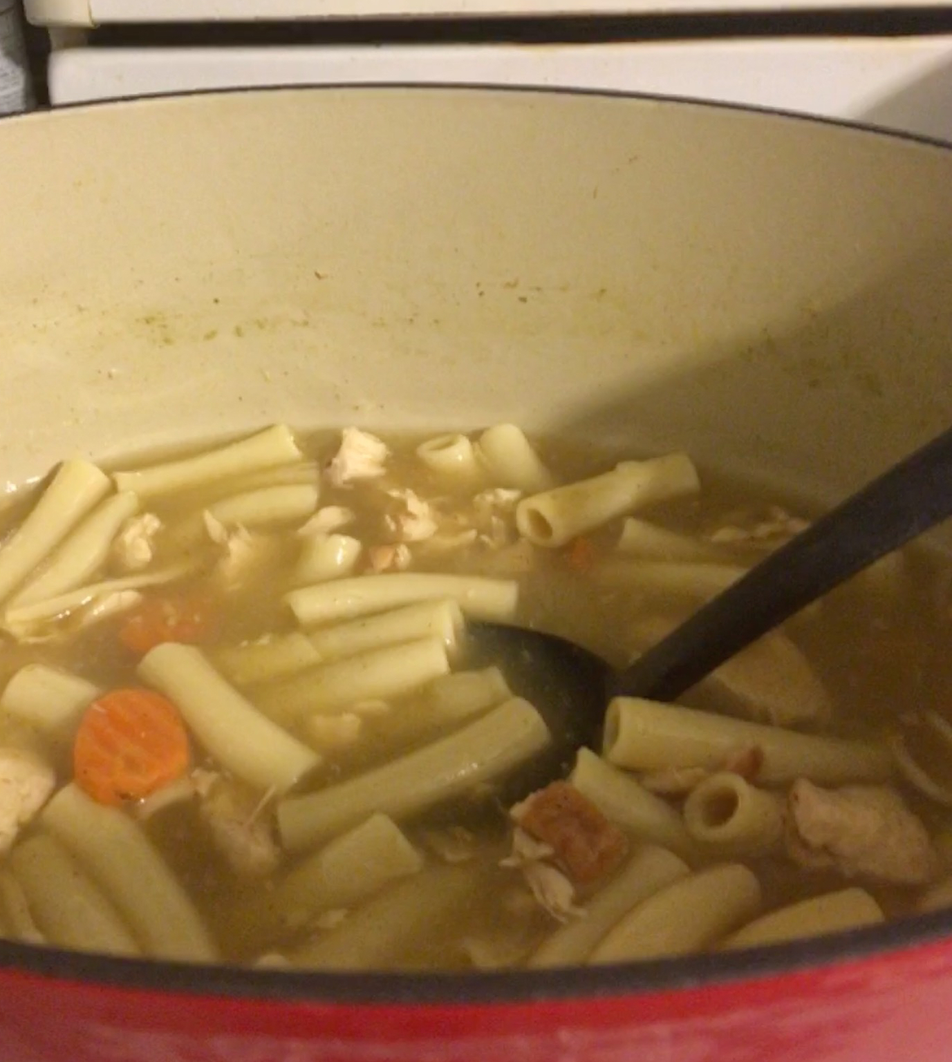 Grandma's Chicken Noodle Soup Kelly Comerford