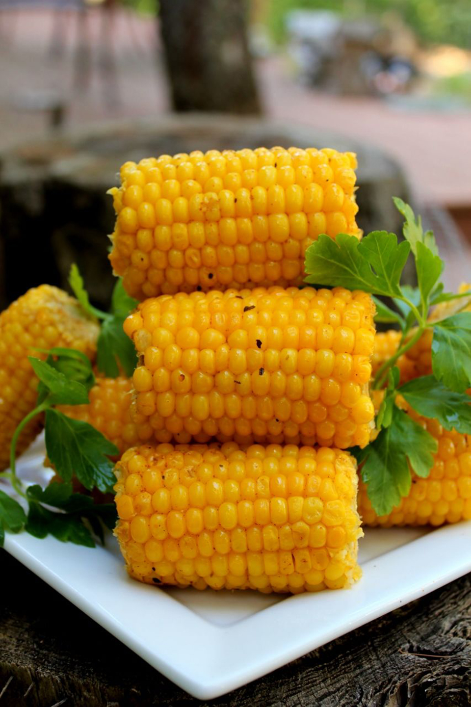 Tasty BBQ Corn on the Cob AllrecipesPhoto