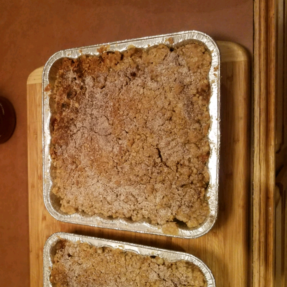 Apple Rhubarb Crisp