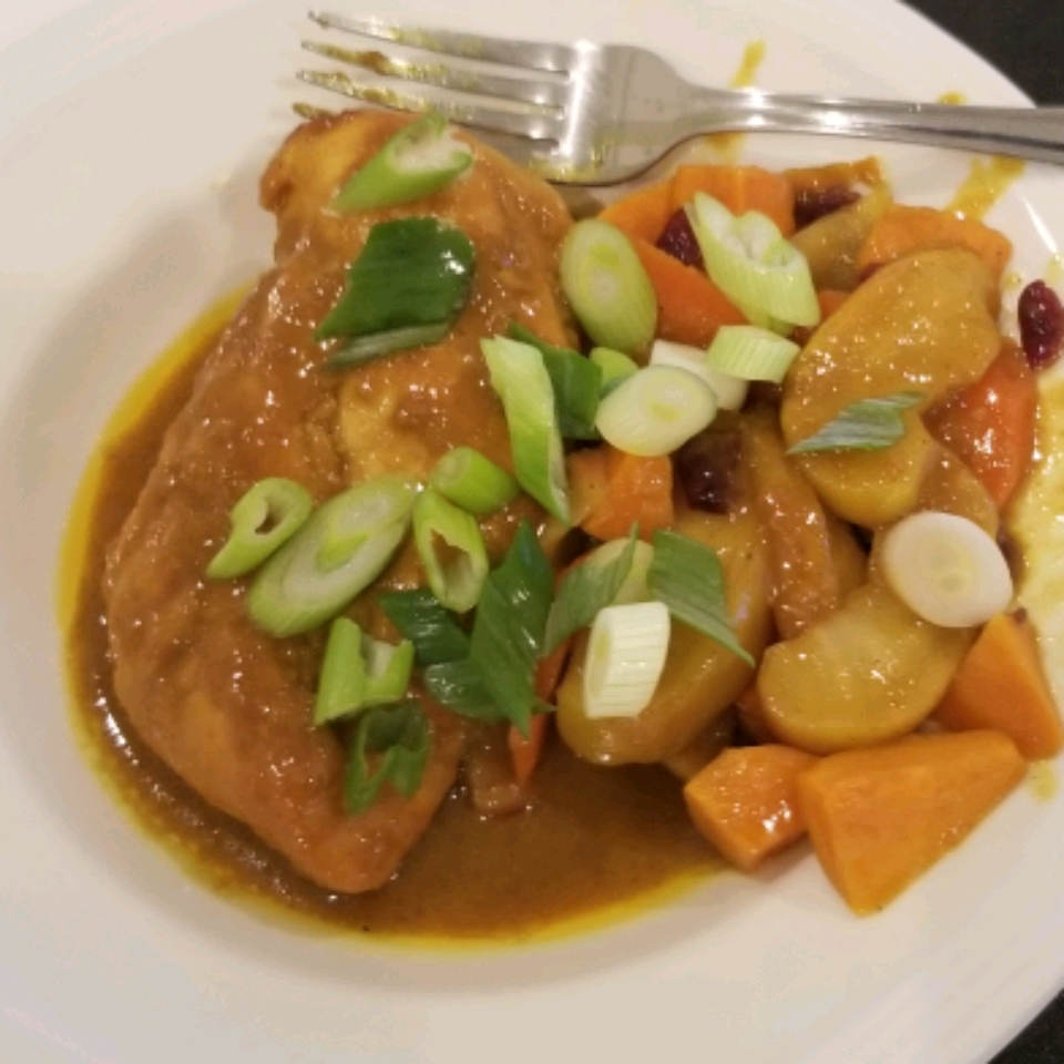 Curried Honey Mustard Chicken Vicki Jones O'Leary