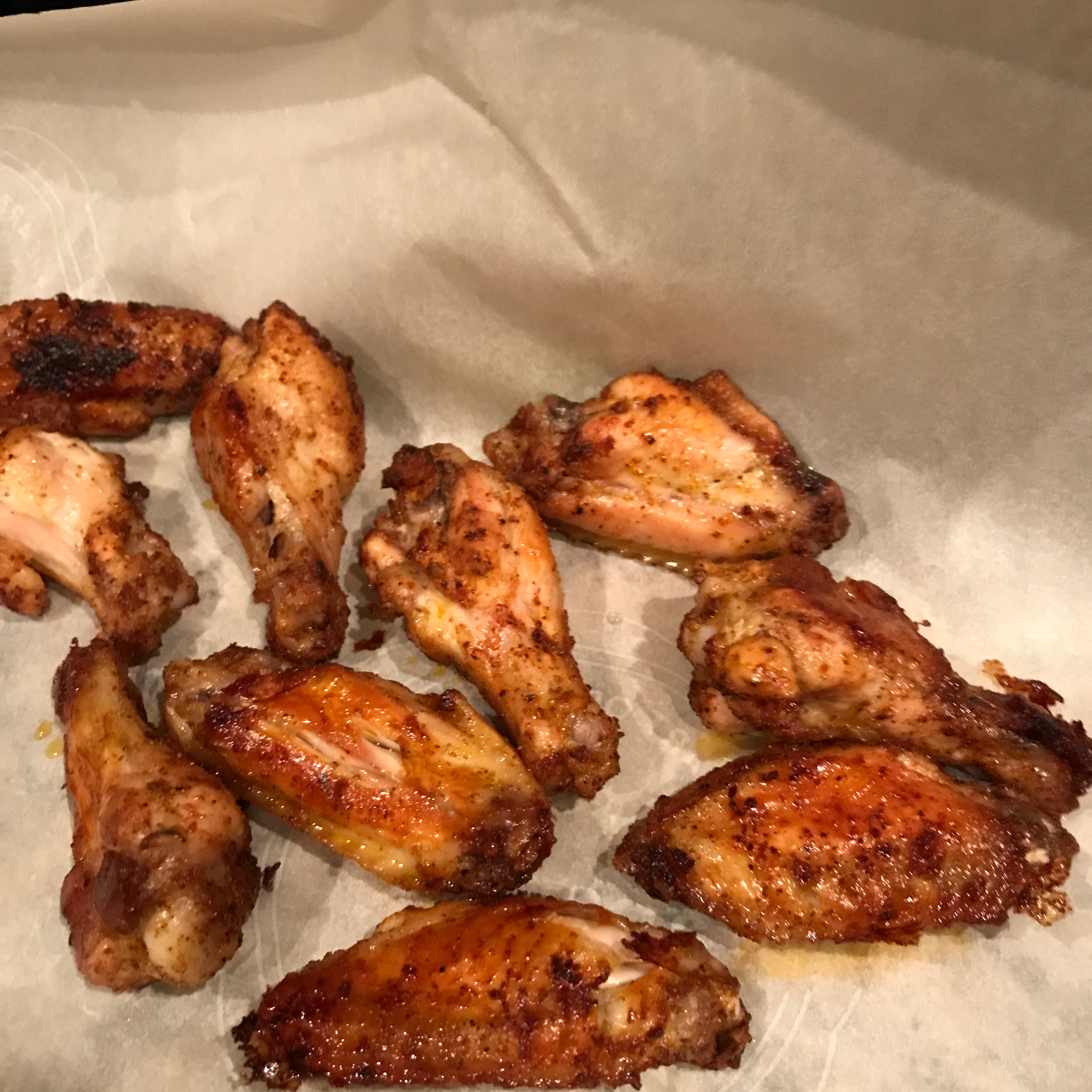 Baked Chicken Wings Alisa Cooley