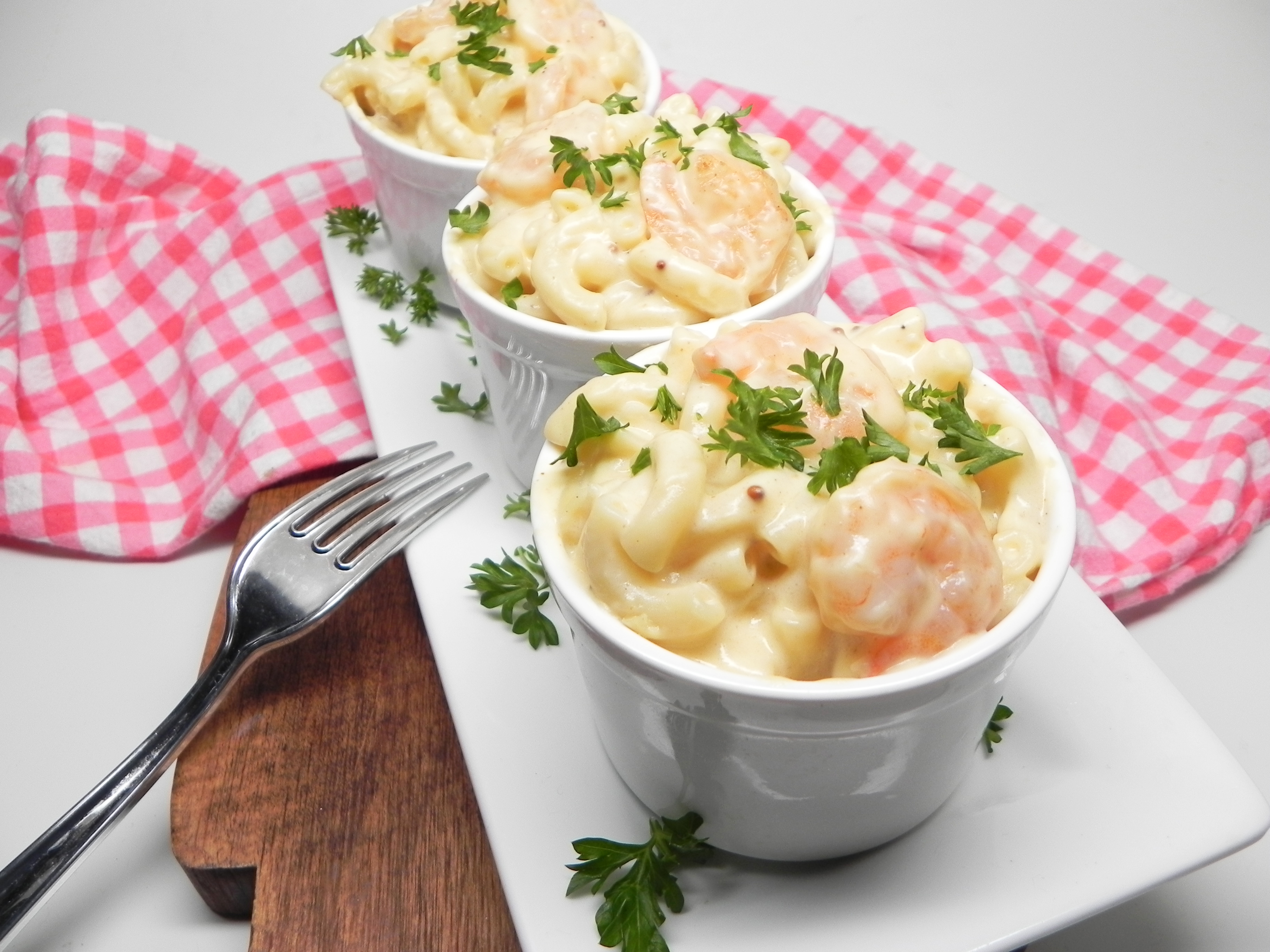 Creole Shrimp Mac and Cheese