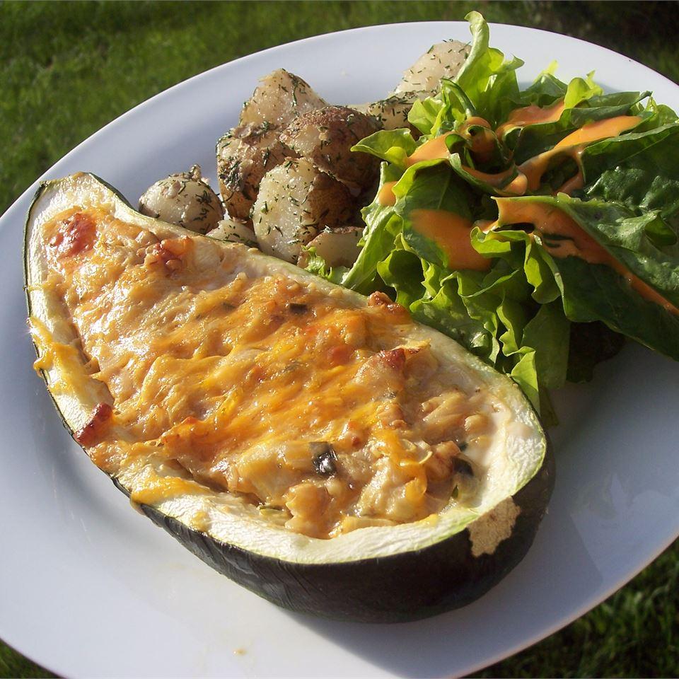Savory Stuffed Zucchini meridian57