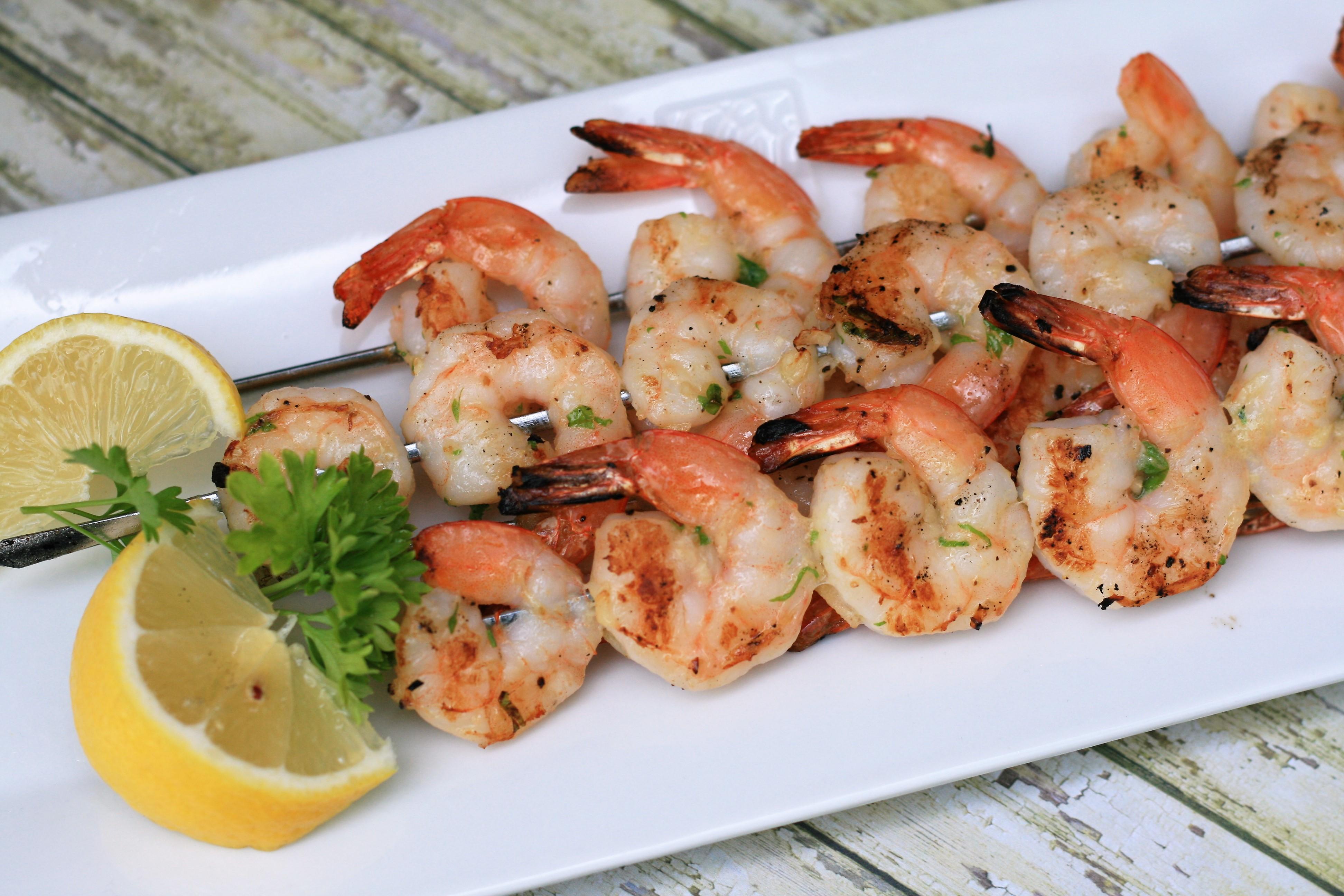Garlic Shrimp Kabobs_image