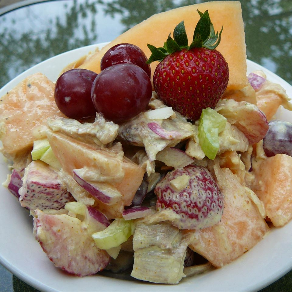 Chicken and Melon Salad Molly
