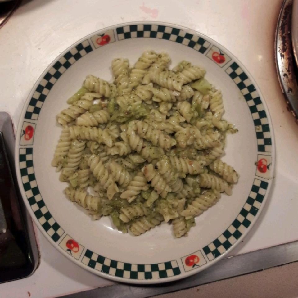 Rotini with Broccoli Michelle Seace Traino