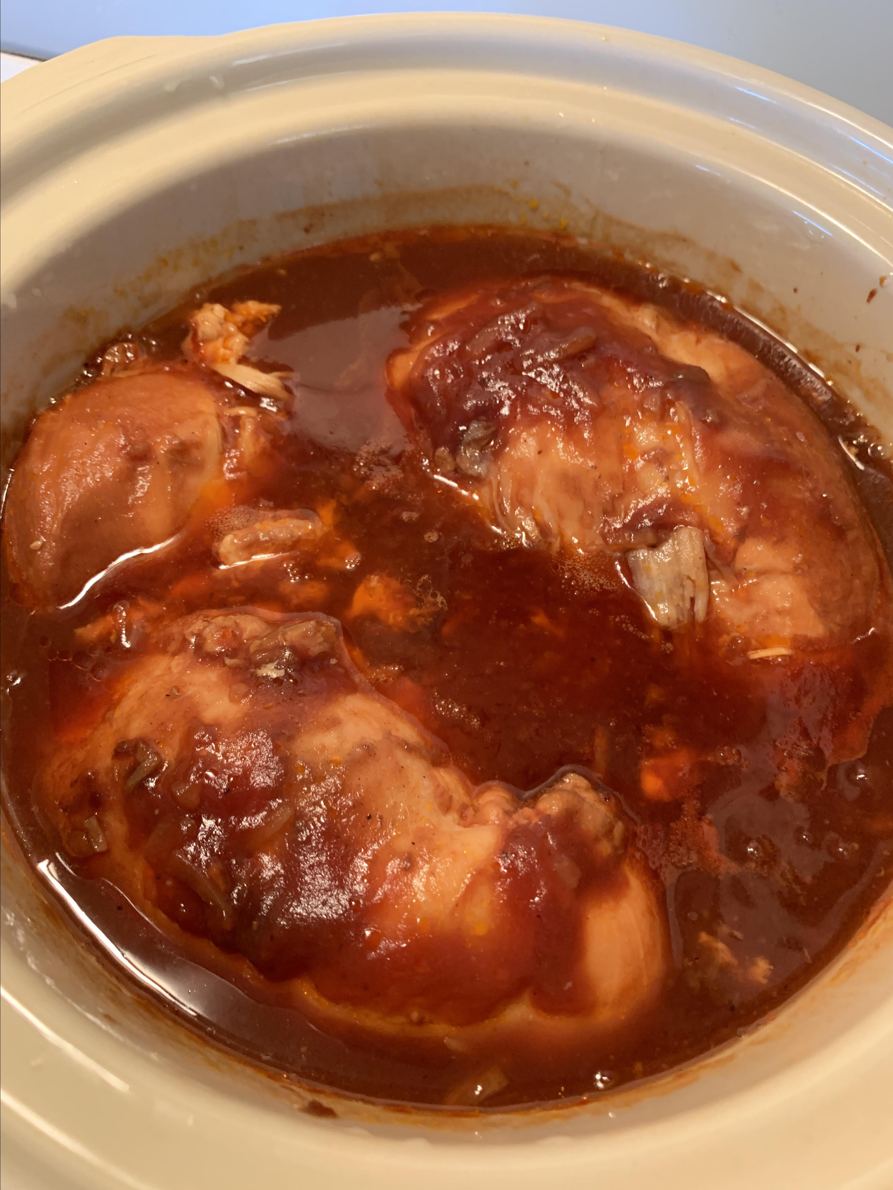 Slow Cooker Cranberry Chicken