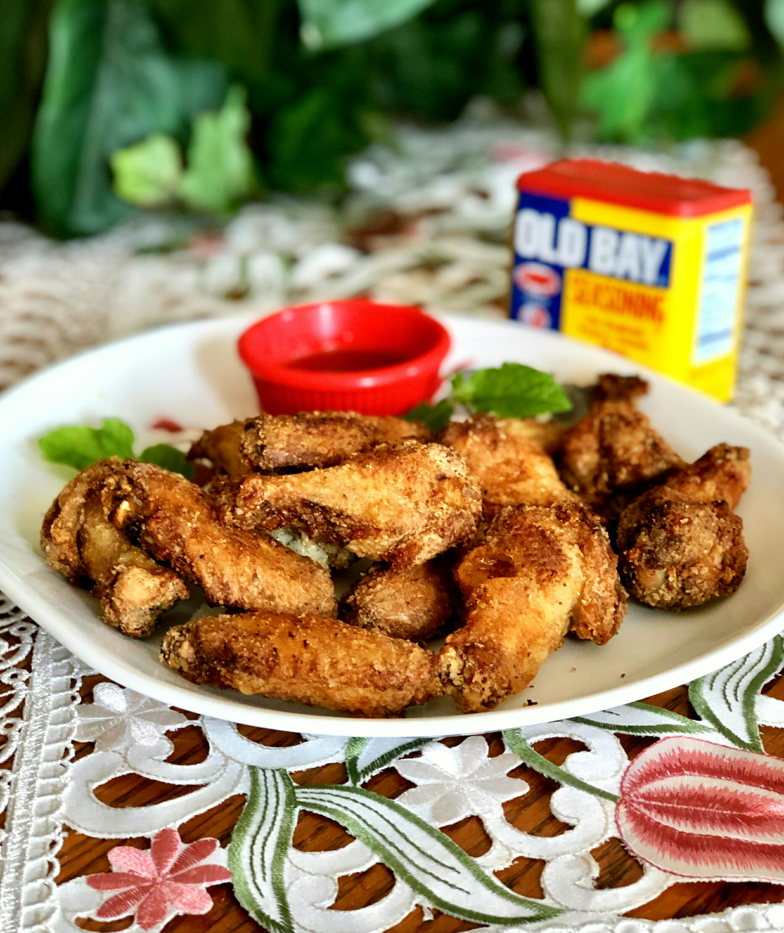 Air Fryer Old Bay(R) Chicken Wings