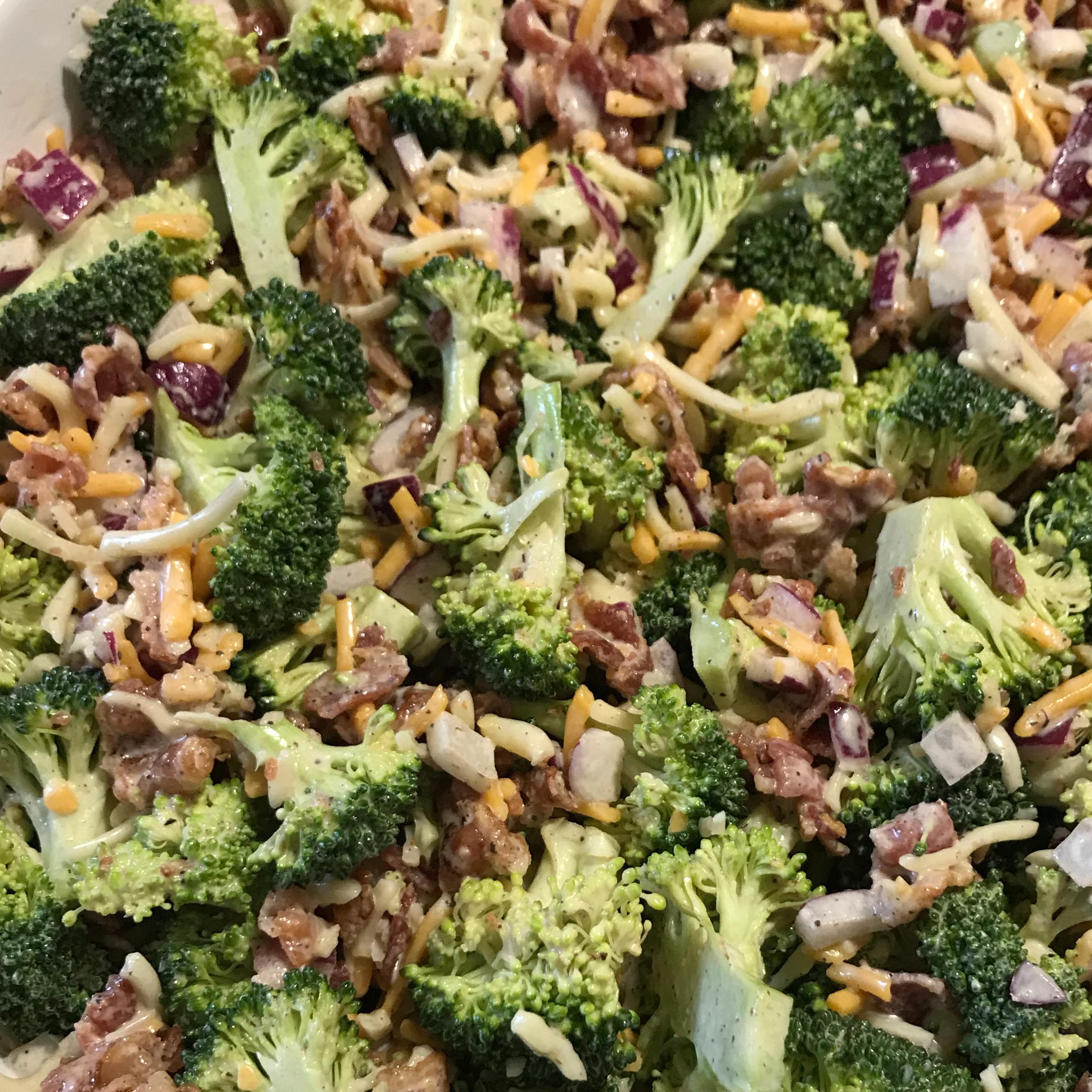 Bodacious Broccoli Salad Victoria
