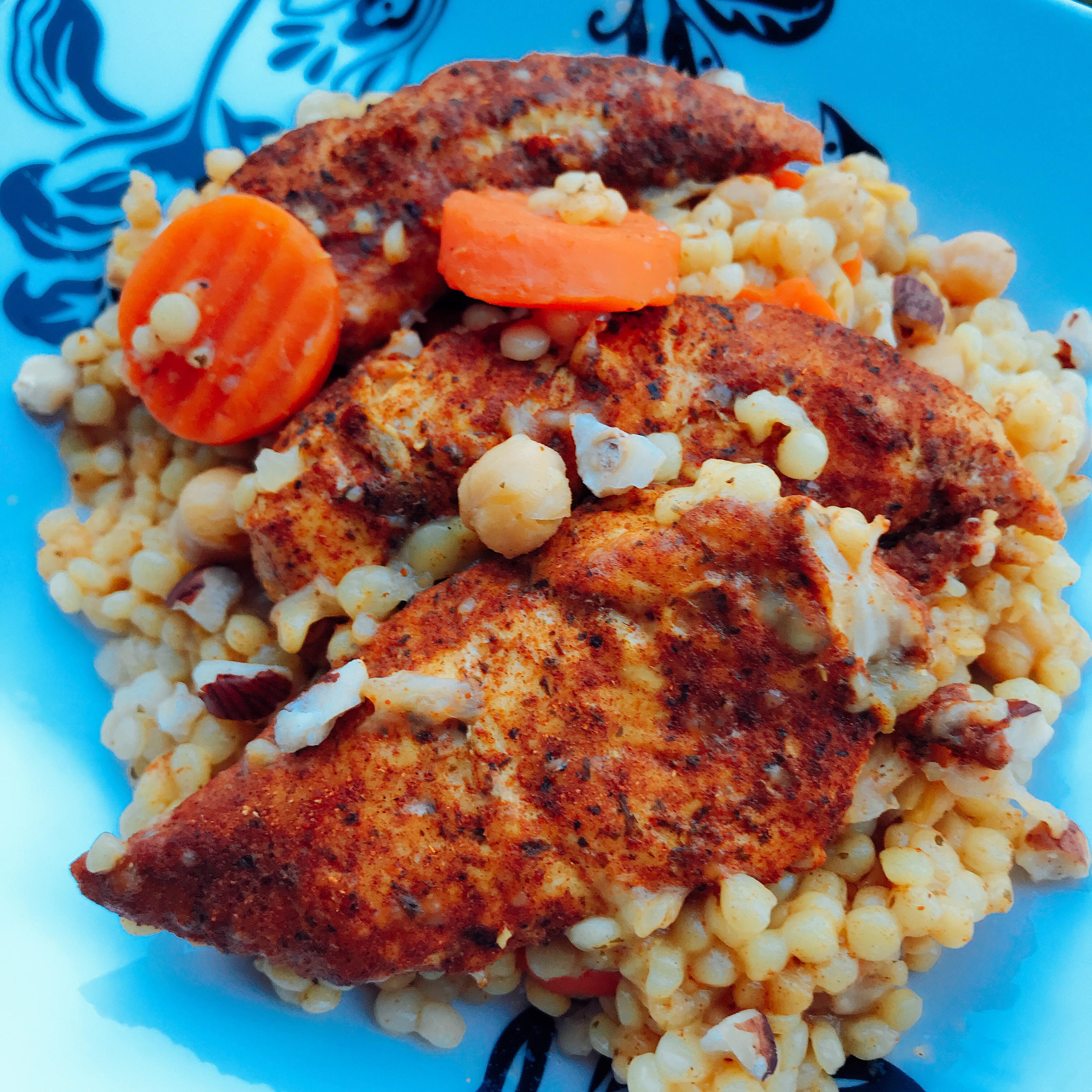 Instant Pot(R) Moroccan Chicken