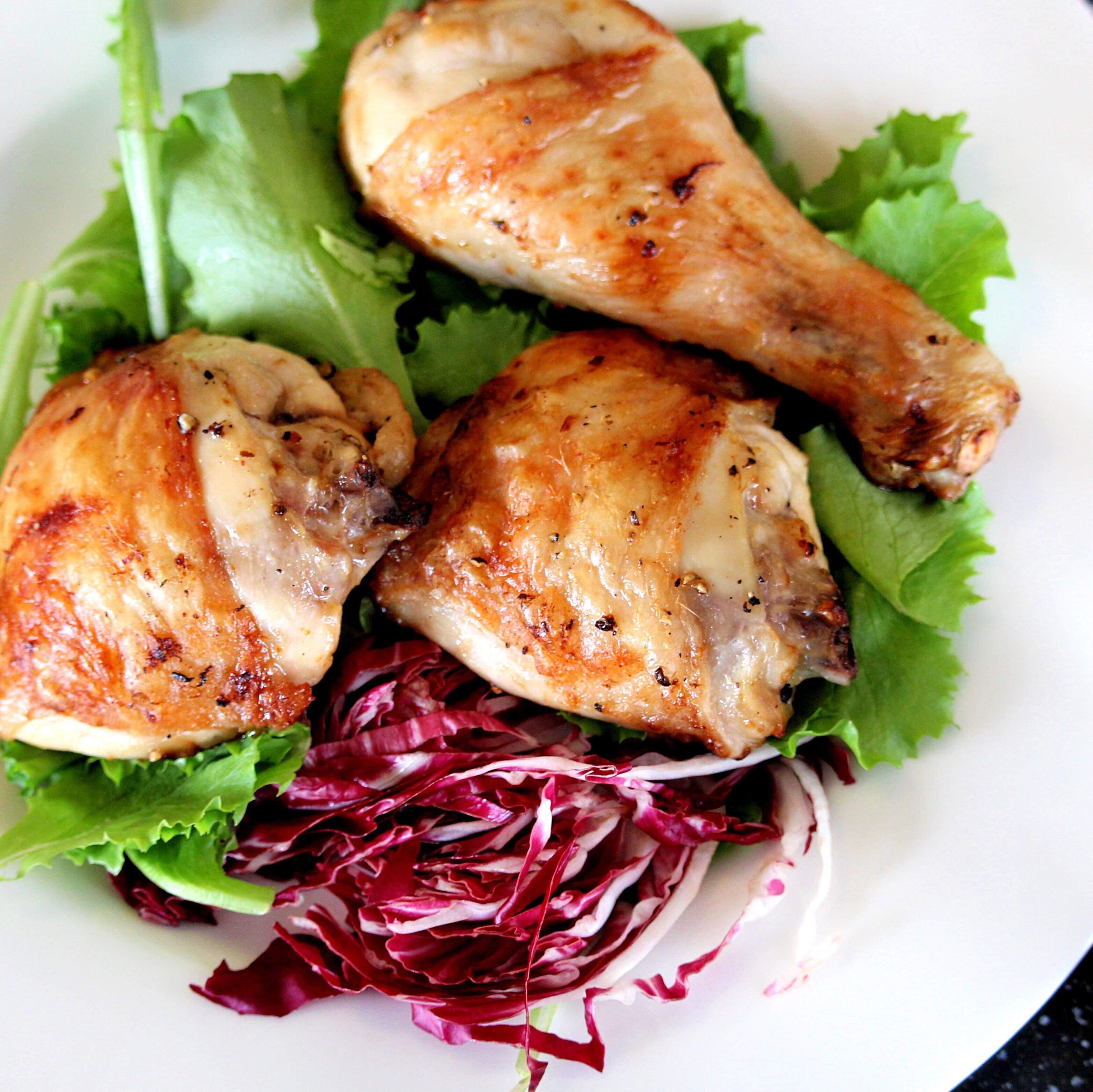 Keto Lemon Garlic Chicken Thighs In The Air Fryer Recipe Allrecipes