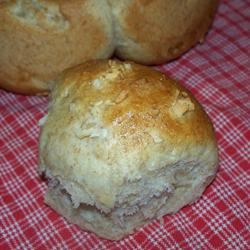 Soft Onion Sandwich Rolls