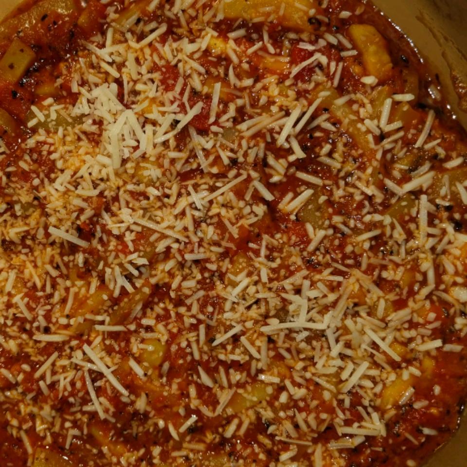 Zucchini Parmesan with Tomato Sauce_image