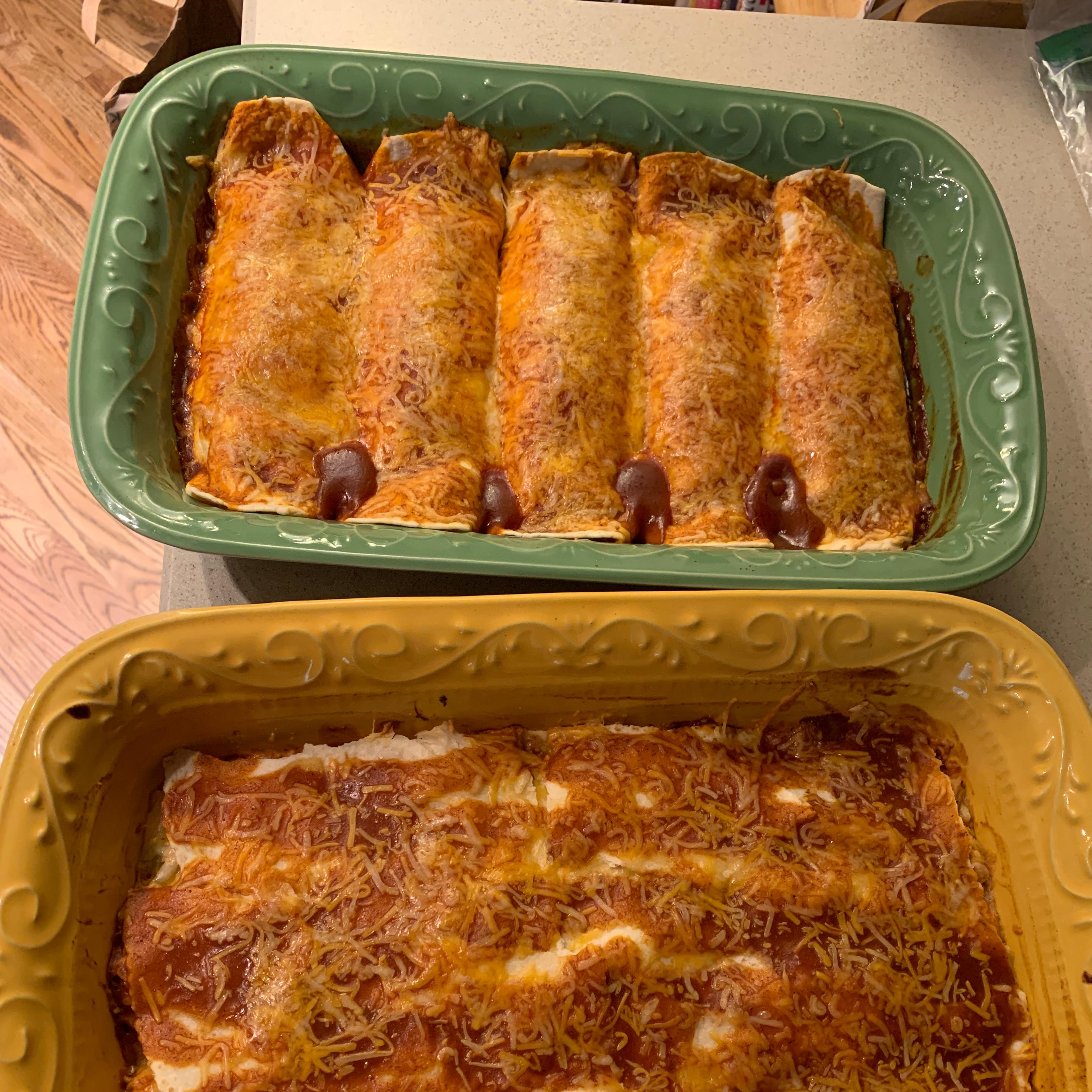 Chicken Enchiladas I bronco351c
