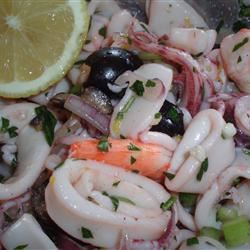 Grammy's Calamari Salad_image