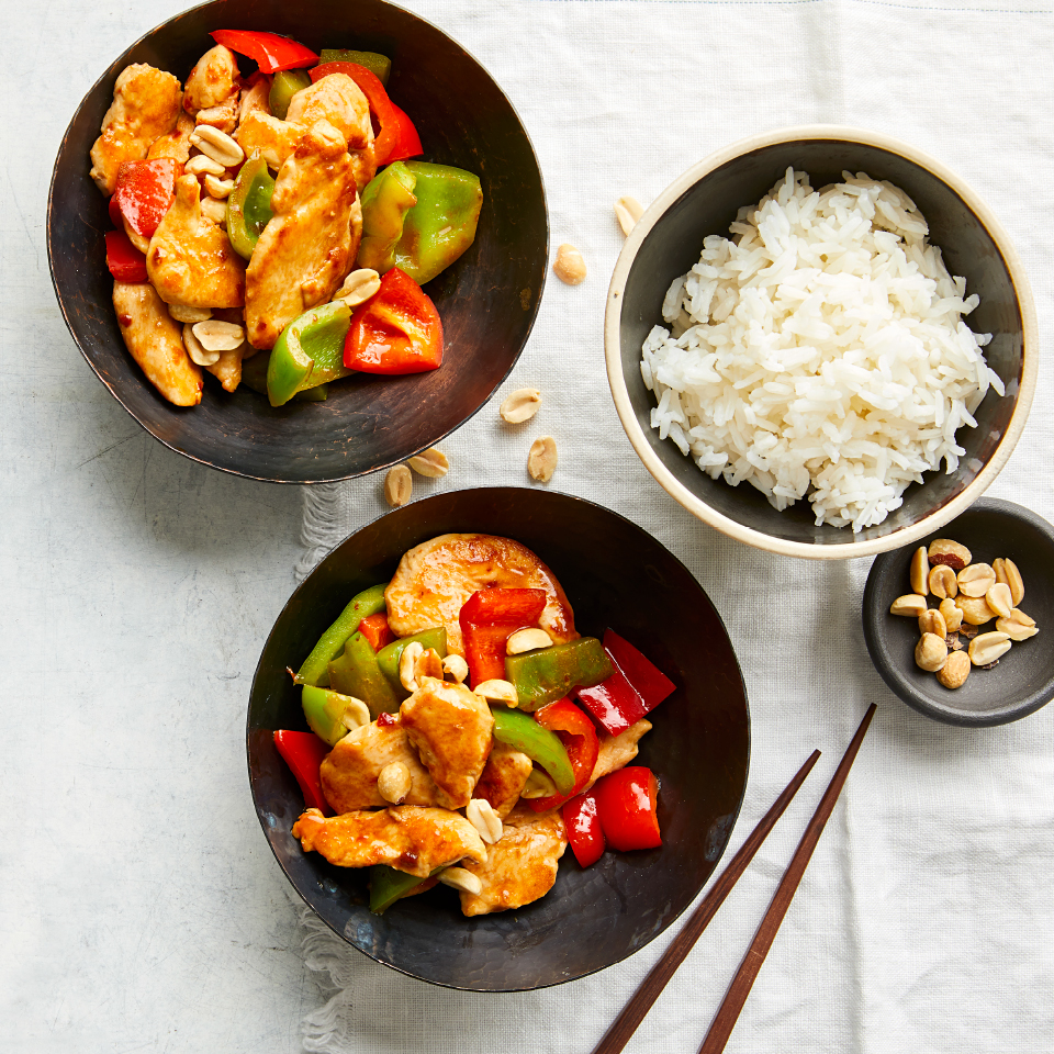 Kung Pao Chicken with Bell Peppers Grace Young