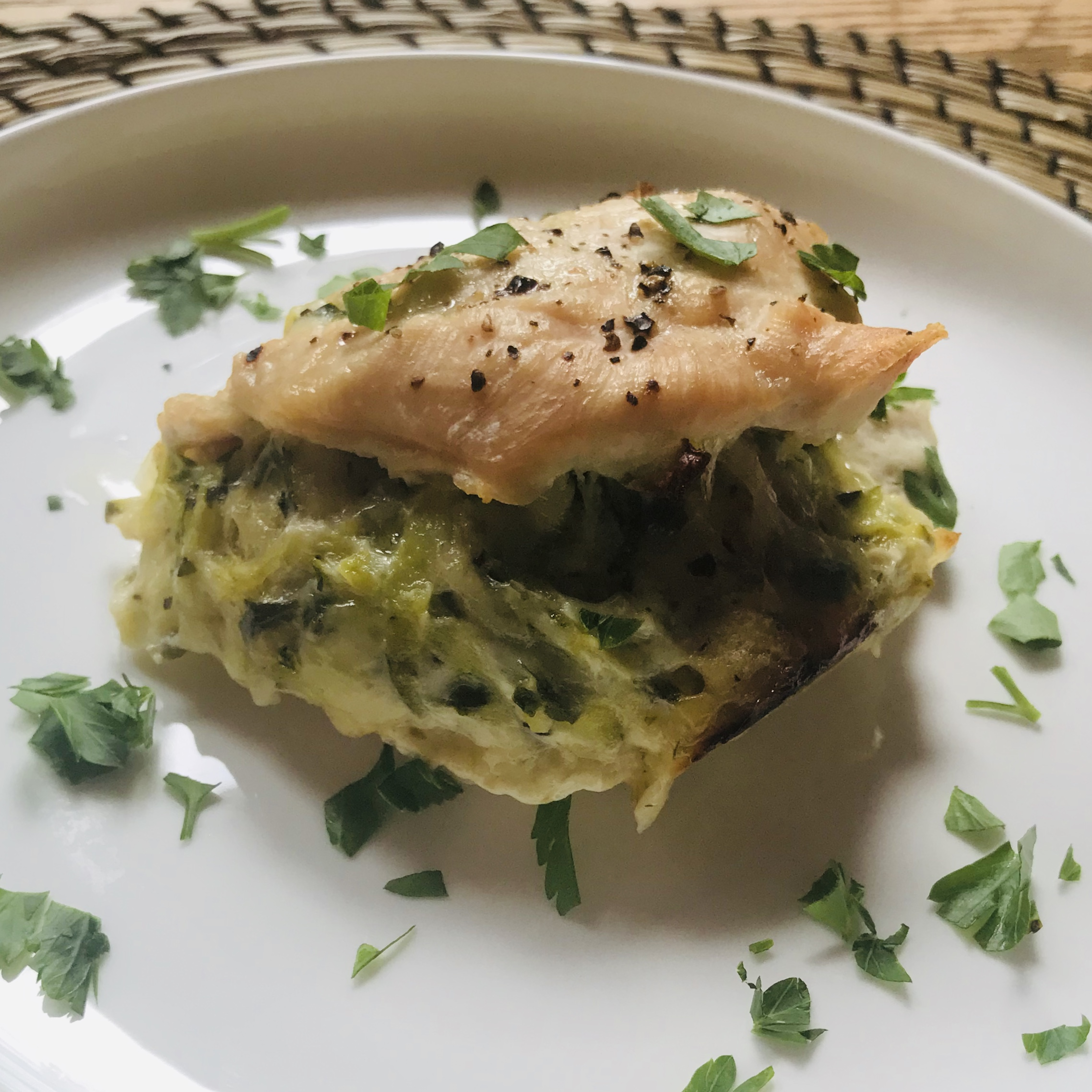 Zucchini Stuffed Chicken REDTEETOP