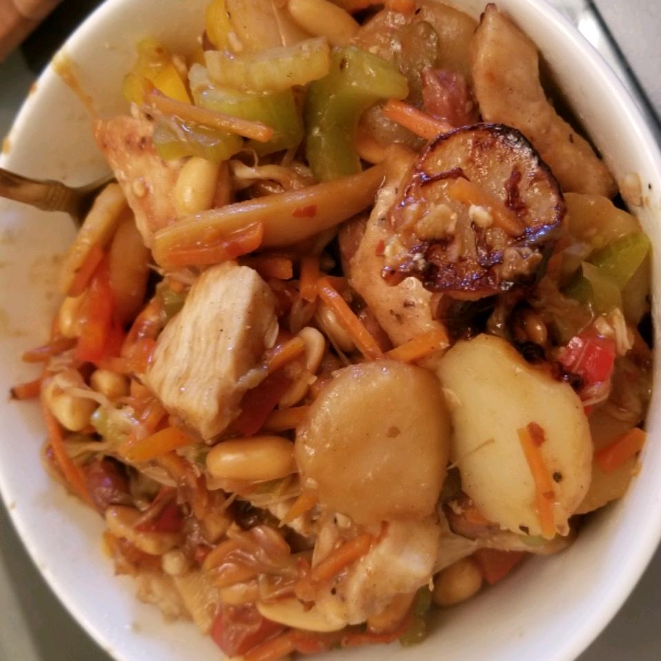 Kung Pao Chicken Stir-Fry David Fioramonti
