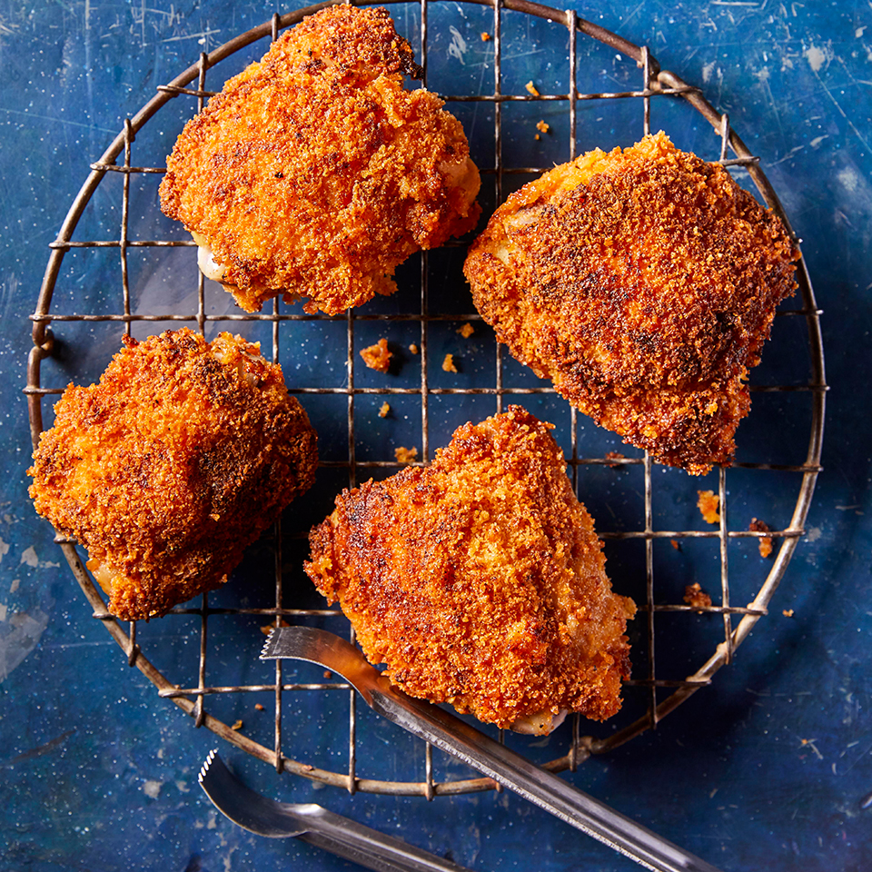 Southern-Style Oven-Fried Chicken Andrea Kirkland M.S., RD