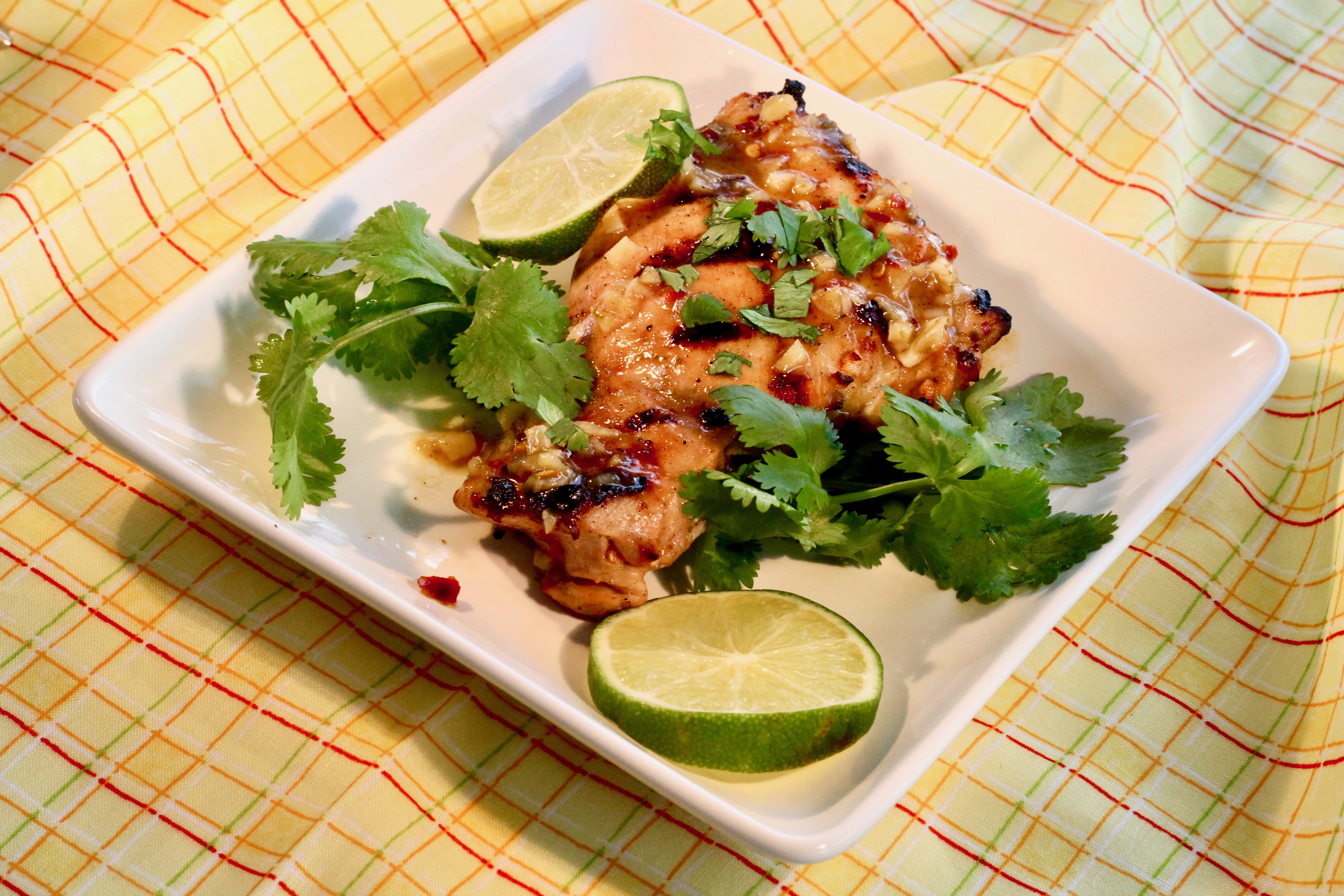 Grilled Chile-Cilantro-Lime Chicken