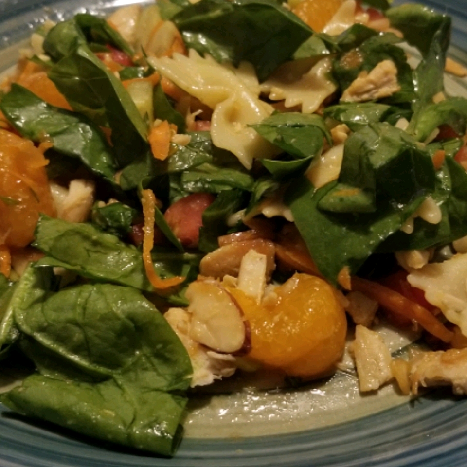 Mandarin Chicken Pasta Salad Cher