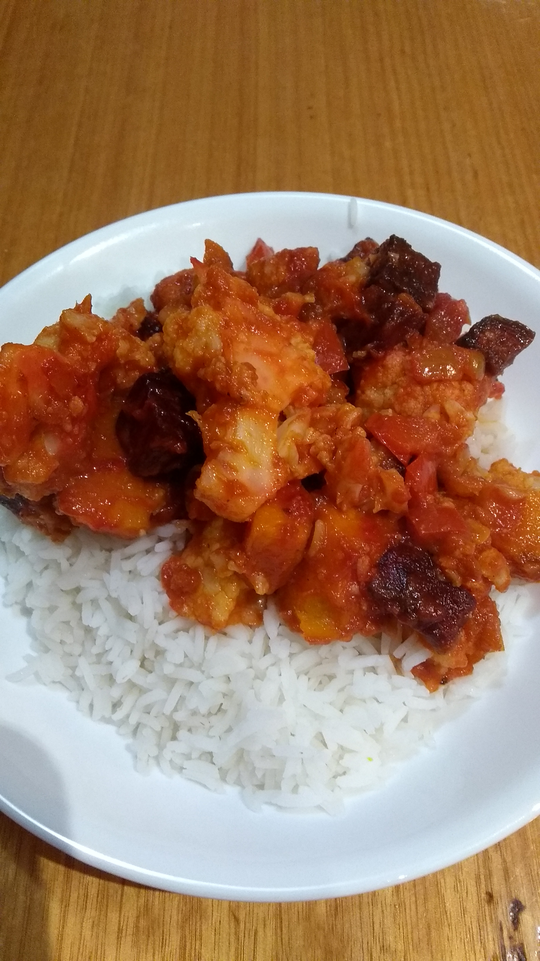 Roasted Vegetable Curry with Pumpkin