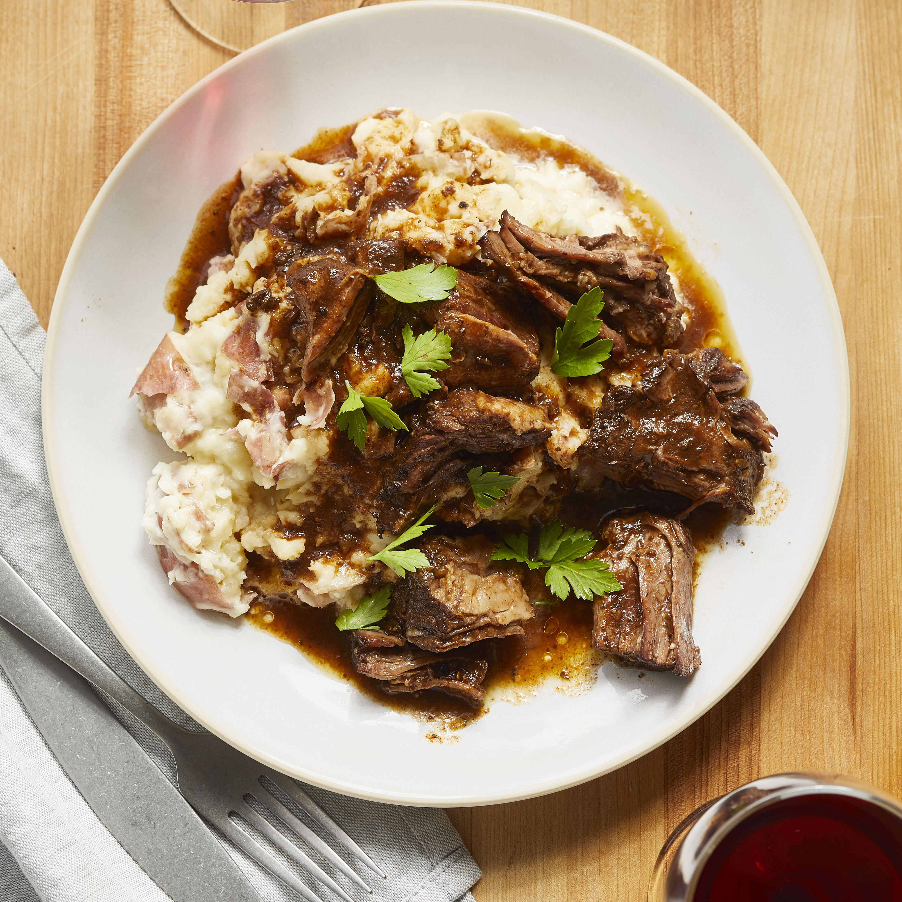Slow Cooker Au Jus Pot Roast
