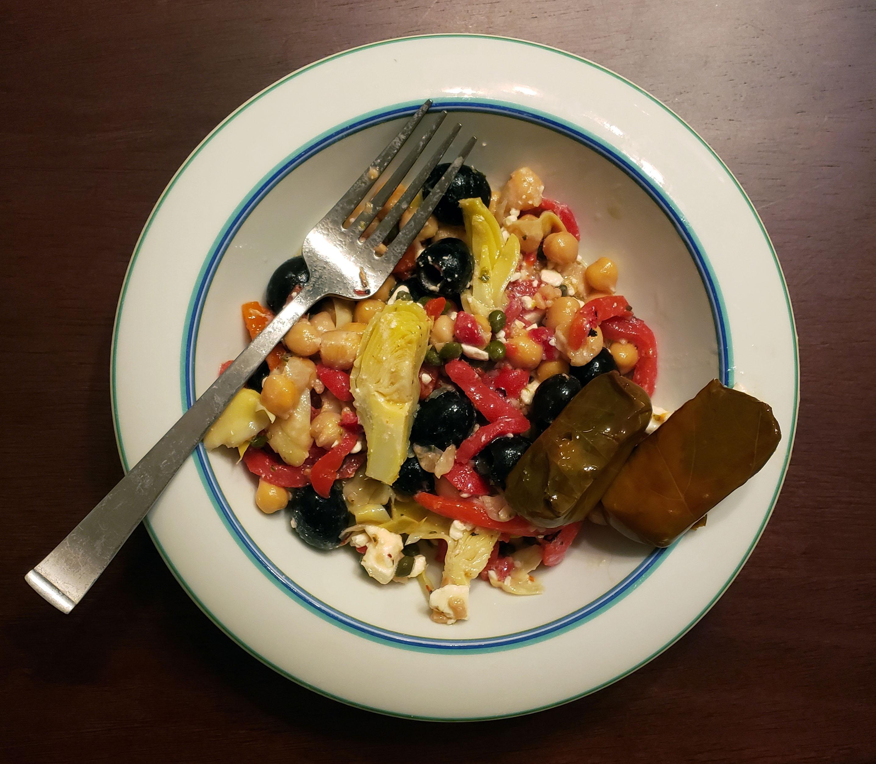 Mediterranean-Inspired Chickpea Salad