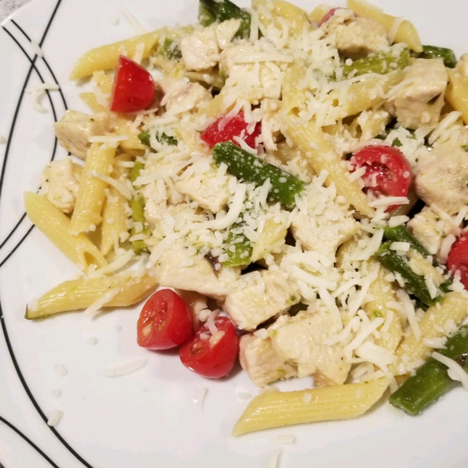Penne with Chicken and Asparagus chris