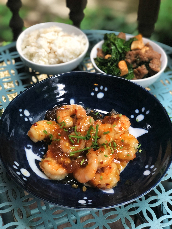 Vietnamese Coconut-Caramel Shrimp (Tom Rim)