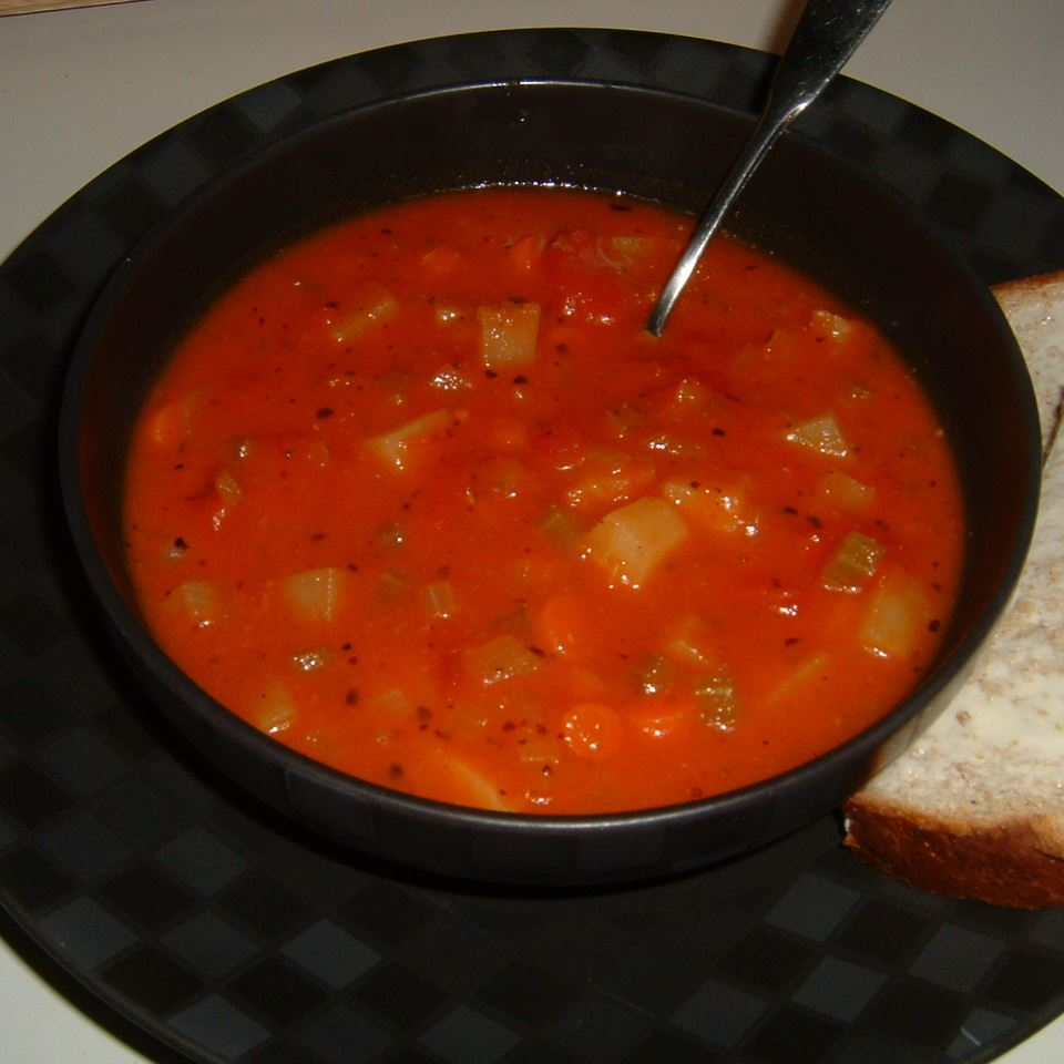 Chunky Tomato Potato Soup Caroline C