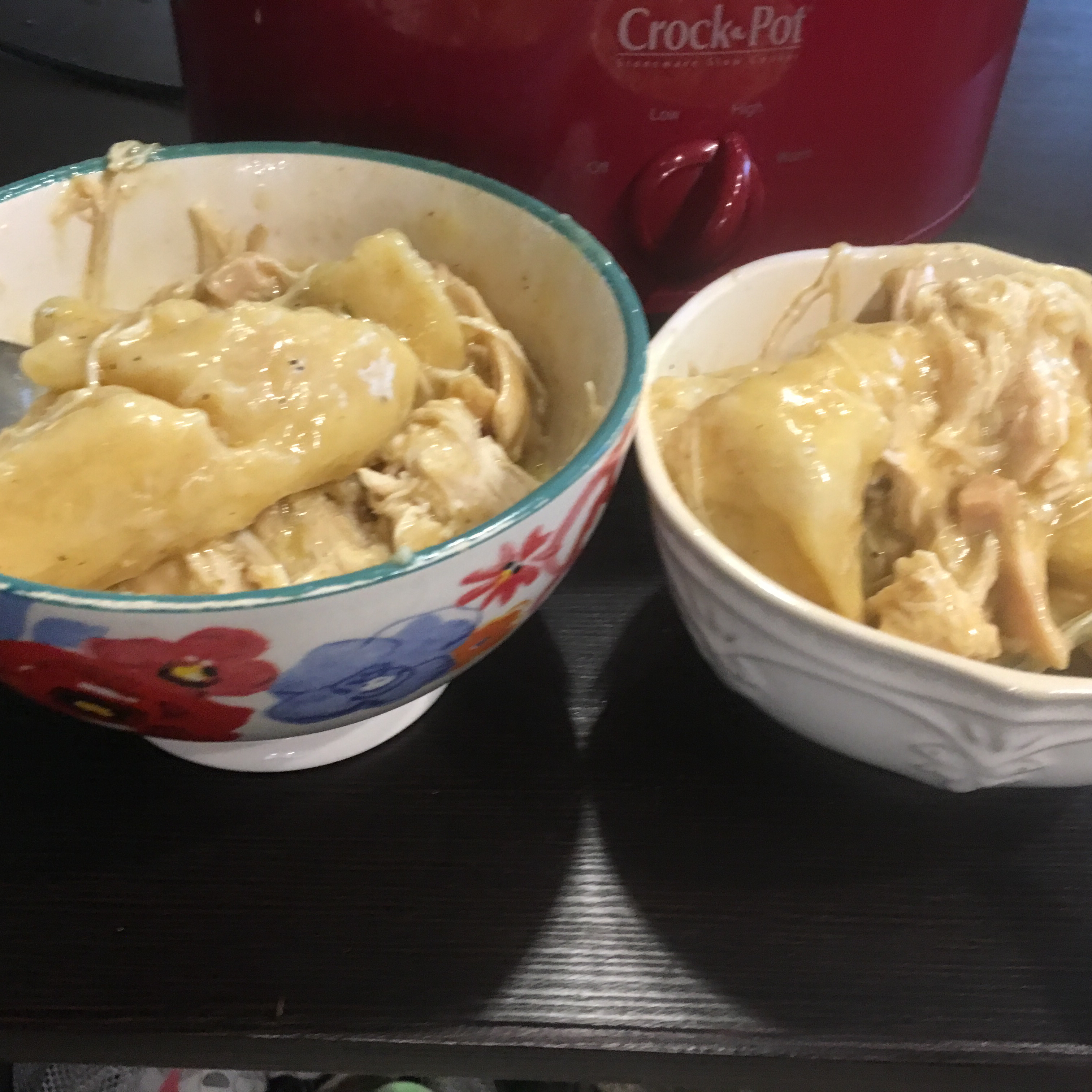 Slow Cooker Chicken and Dumplings kennaelyse