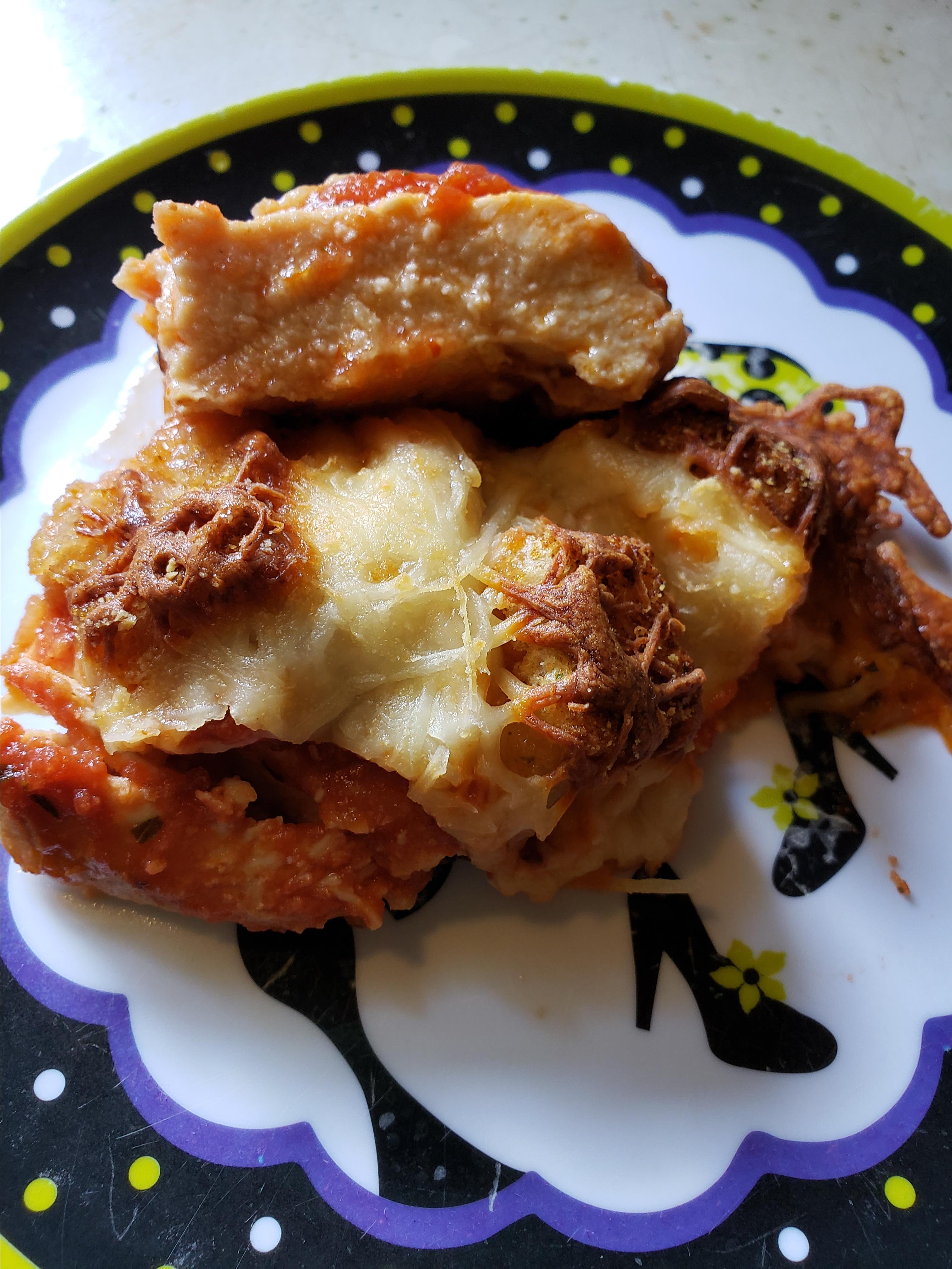 The Best Parmesan Chicken Bake Jenatta
