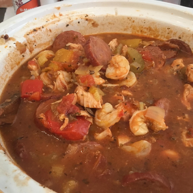 Colleen's Slow Cooker Jambalaya MsDee55