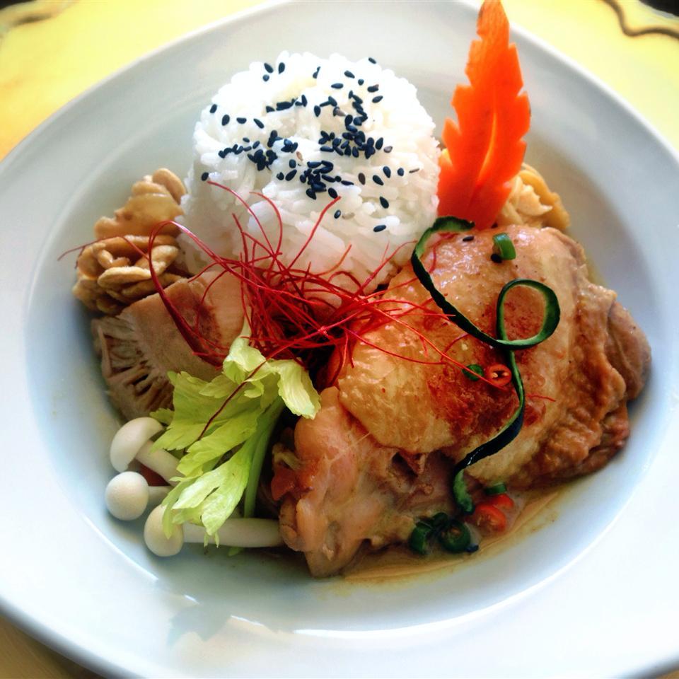Myanmar Chicken and Jackfruit Curry Brittney Tun